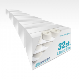 5 Dozen Hypo-allergene Sporttape 4,0 cm Wit (160 st.)